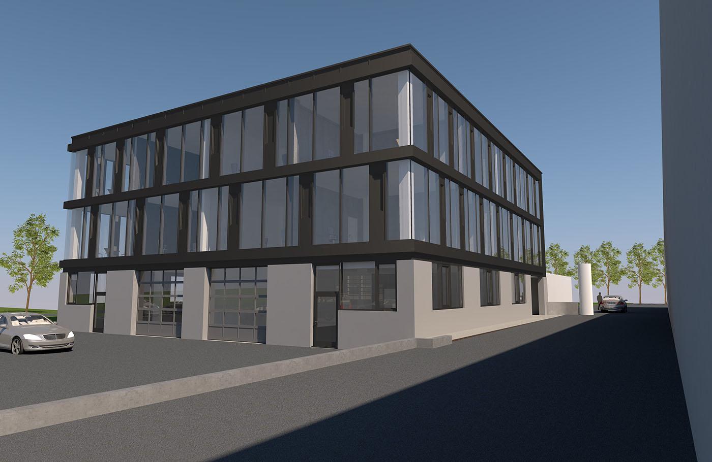 Neues Bürogebäude Schörfling